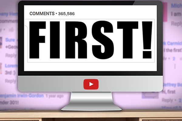 Be the First One to Comment on Your Video