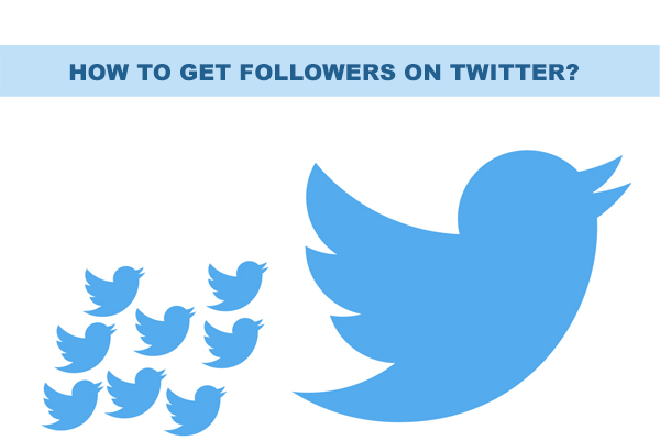 How to get followers on twitter