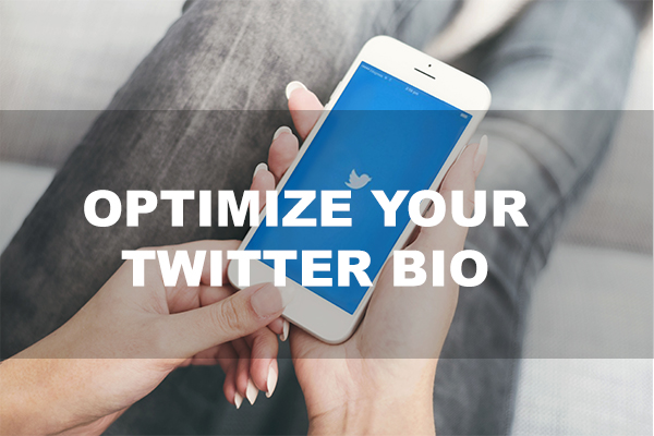 Optimize your Twitter Bio