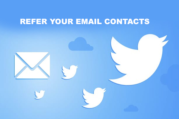 Refer your Email Contacts