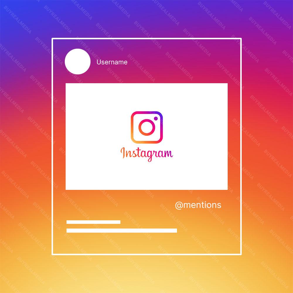 Buy Instagram Mentions