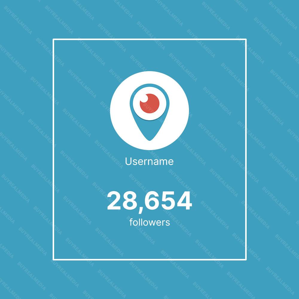 Buy Periscope Followers