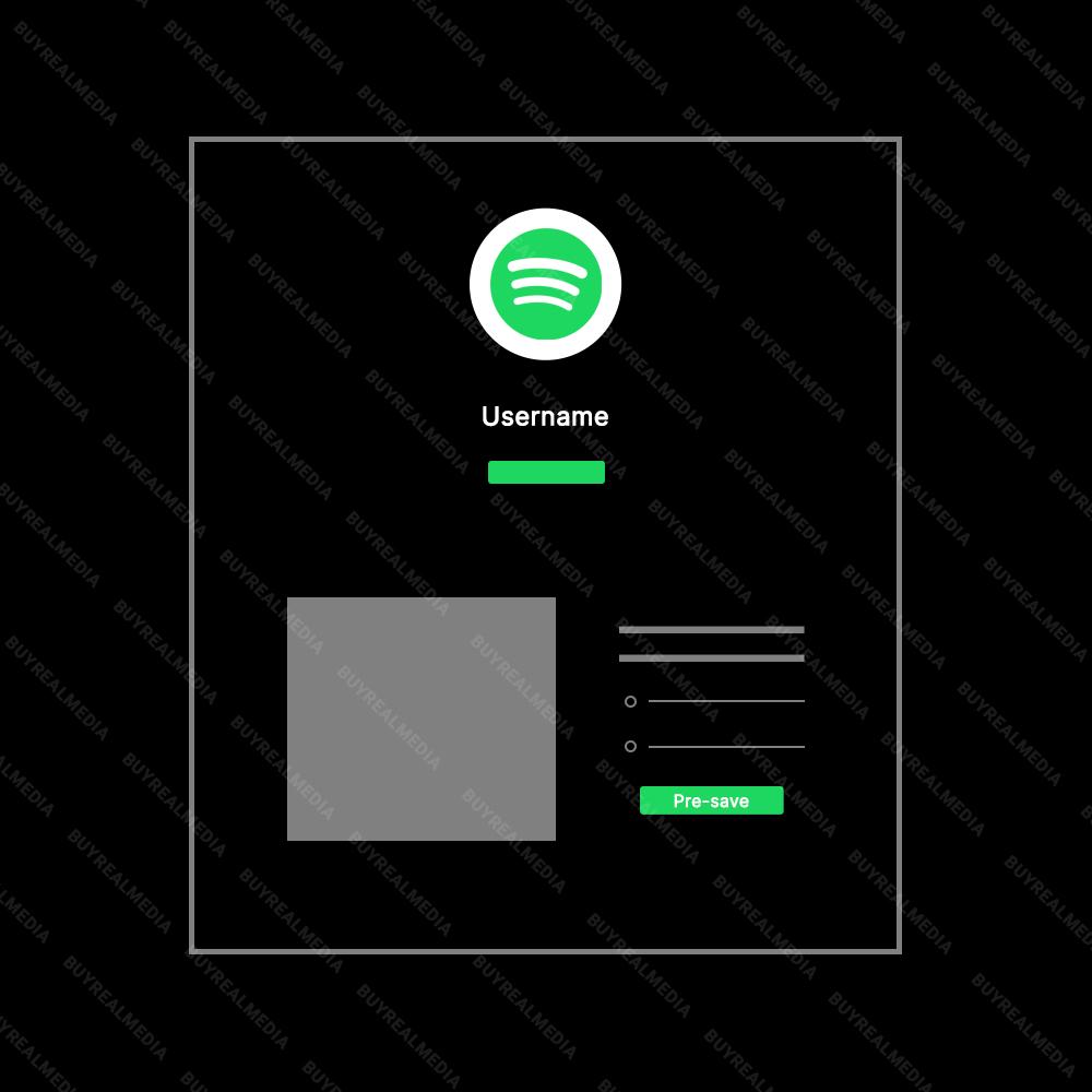 Buy Spotify Pre Saves