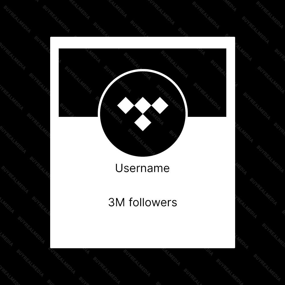 Buy Tidal Followers